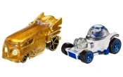 Mattel Cars: Hot Wheels Star Wars C-3PO and R2-D2